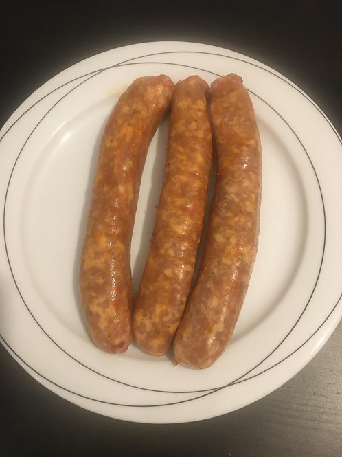 Italien sausages hot (3pk - pork) - Fred's Sausages