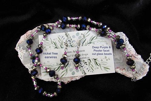 Original Designed Set (Deep Purple) - Linn's Creative Jewelry