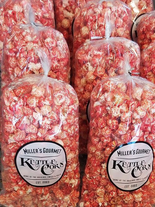 Old Fashioned Pink Kettlecorn - Miller's Gourmet Kettlecorn