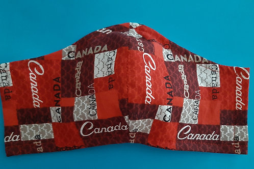 CANADA FACE MASKS - It's A Wrap and Sew On