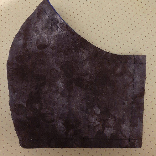 """Face Mask (Men's size)""""ear elastic"""" style - It's A Wrap and Sew On"""