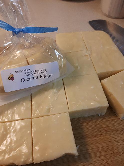 Coconut Fudge - Grammie Bee's Pantry