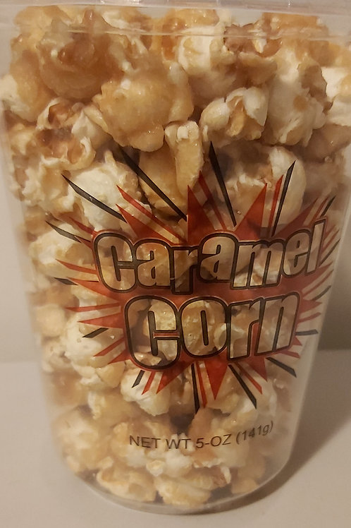 Tubs of Caramel Corn - Miller's Gourmet Kettle Corn