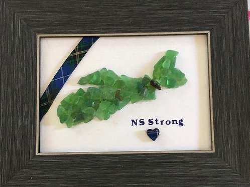 5x7 framed NS Strong Picture - Nature's Best Rocks