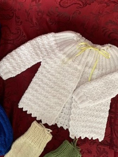 Baby Sweater - The Crochet Lady