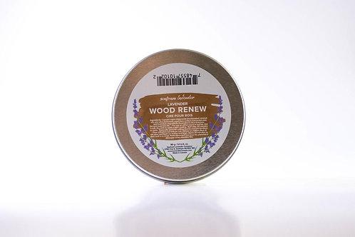 """""""Wood Renew"""" Restoration Wax (125 g Tin)- Seafoam Lavender Company"""