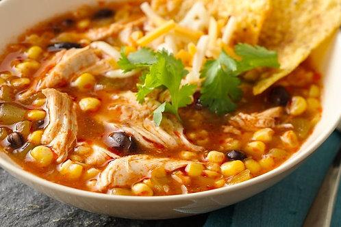 Chicken Enchilada Soup - Frozen 24oz (Gluten-Free) - Stirring the Pot
