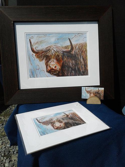 Framed Prints from Original Watercolours 8x10 - Yodi Originals