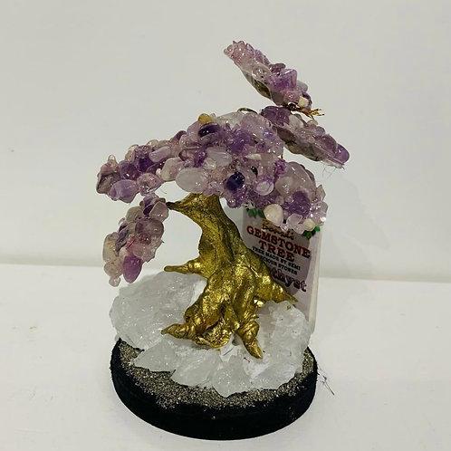 Amethyst Gemstone Tree - Elements By Drala