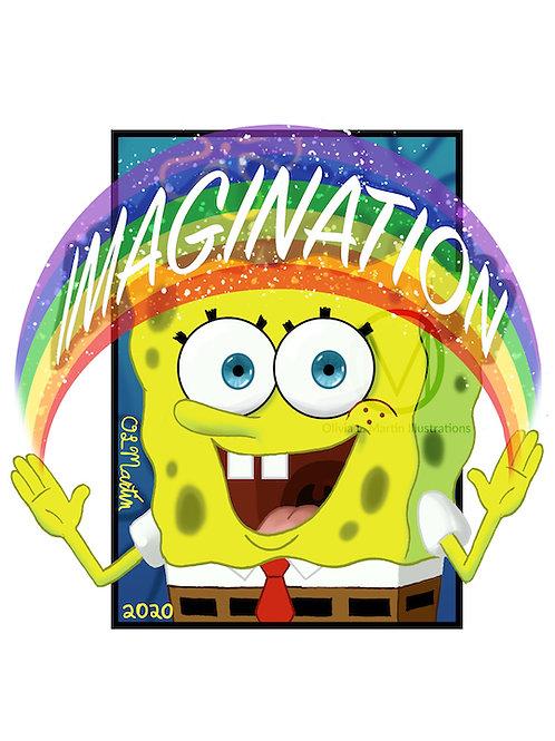 "SpongeBob Squarepants - 8x10"" art print"