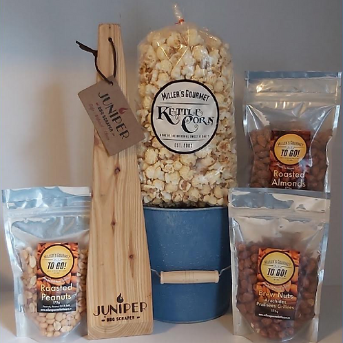 Nuts About Dad Gift Pack - Miller's Gourmet Kettlecorn