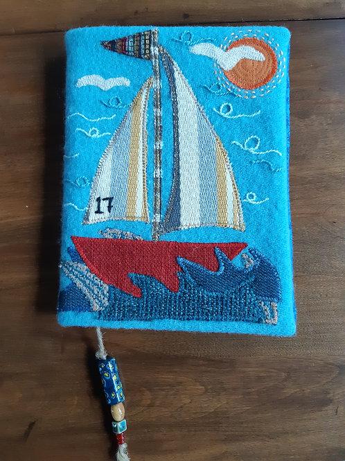 Sailboat Journal Cover - Meraki Designs