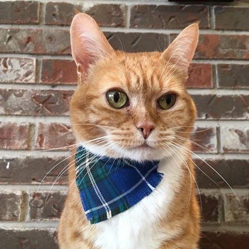 Nova Scotia Tartan Cat Collar Kerchief - Tartan Gal Designs