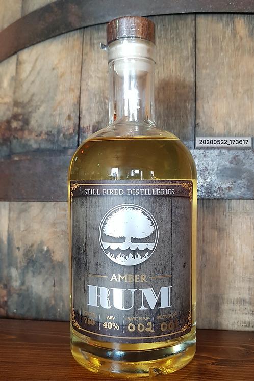 Amber Rum (750 ml) - Still Fired Distilleries