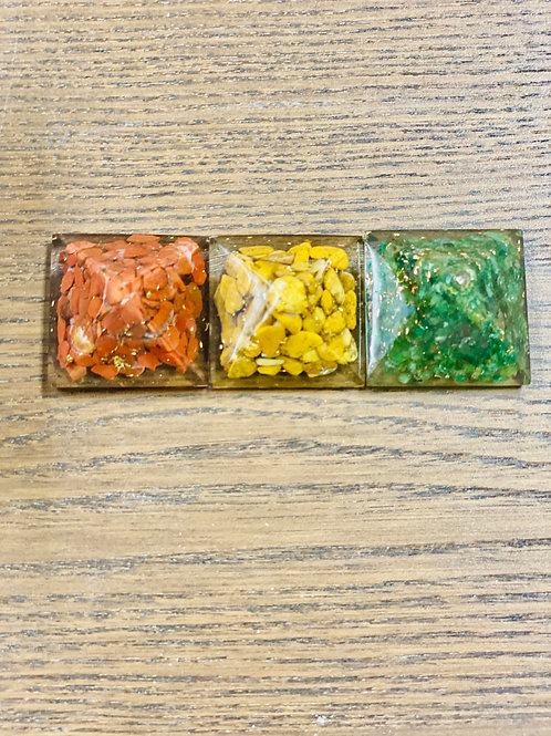 Pyramid (made of healing crystals) ea - Elements By Drala