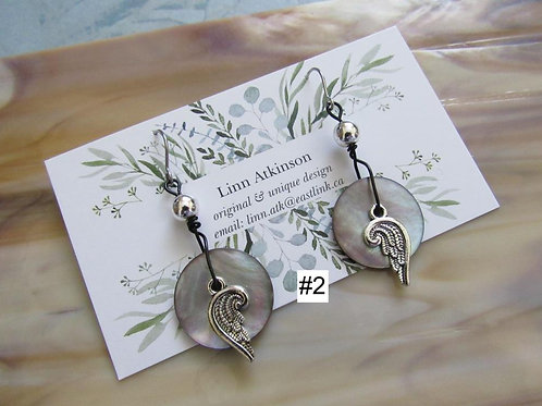 Earrings (Cute As A Button Collection) *choose design* - Linn's Creative Jewelry