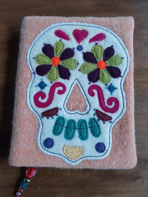 Sugar Skull Journal Cover - Meraki Designs