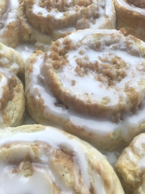 """Cinnamon Rolls (old fashion or """"Big fat"""" - The Cake Lady"""
