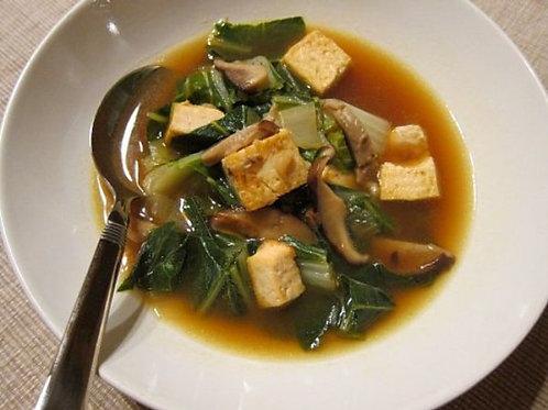Miso Mushroom with Tofu 24oz (V/G.F) - Stirring the Pot Soup Cafe