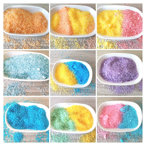 Bubbling Dead Sea Bath Salts - The Silly Soap Shop