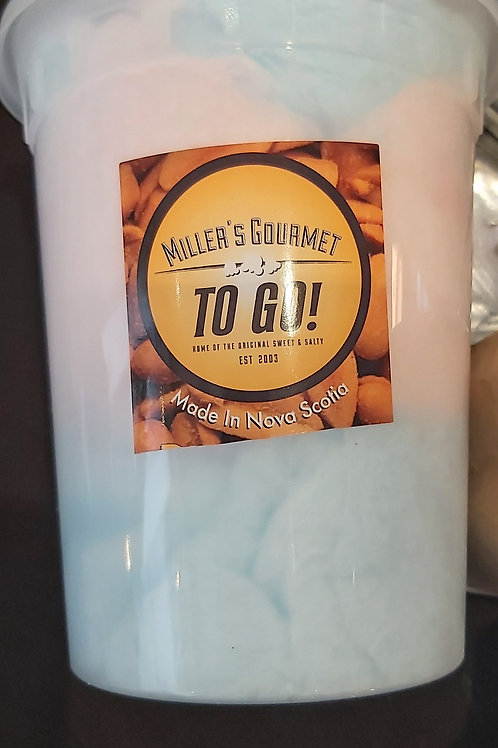 Tubs of Cotton Candy - Miller's Gourmet Kettlecorn