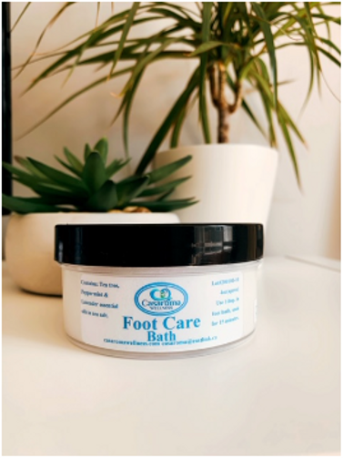 Foot Care Bath Soak- Casaroma Wellness Centre