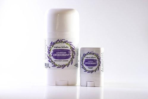 Natural Deodorant - Seafoam Lavender Company