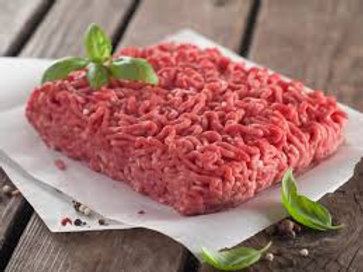 Lean Ground Beef (1lb Frozen Package)-Red Mountain Farm