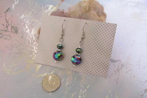 Multi-Facet Drop Earrings - Linn's Creative Jewelry