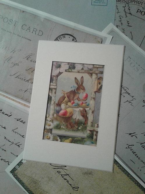 Vintage Easter Postcard Print Collection - Yodi Originals