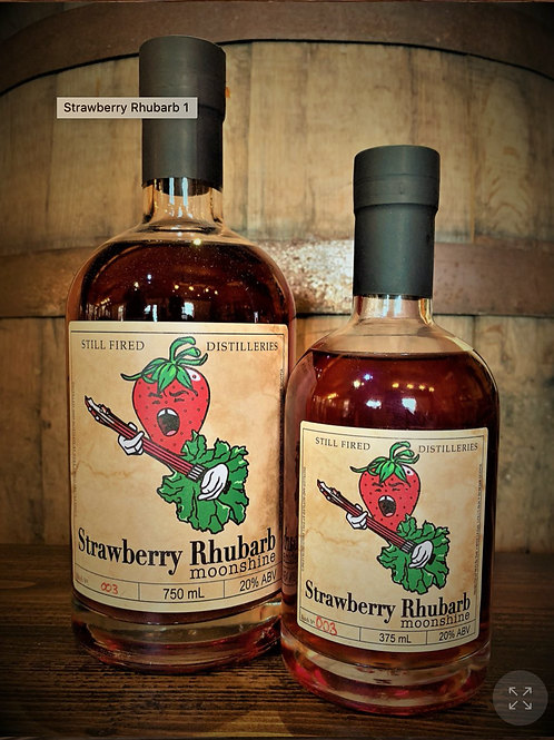 Strawberry Rhubarb Moonshine - Still Fired Distilleries
