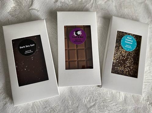 Chocolate Bars (gluten-free) - 100 grams - Sweet NS Chocolaterie