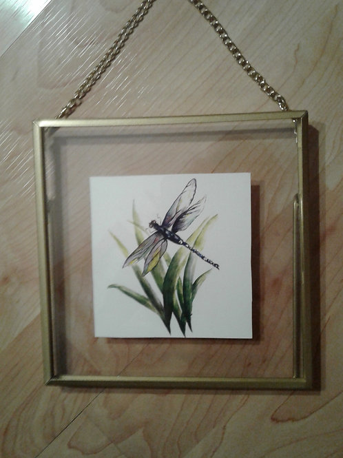 """Dragon Fly"" Watercolour - Yodi Originals"