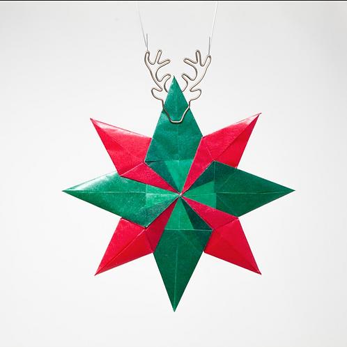Kite Paper Window Stars - Axe to Grind