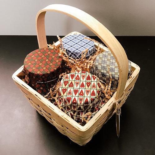 Preserves Gift Pack (4 jars + basket) - Market Maven