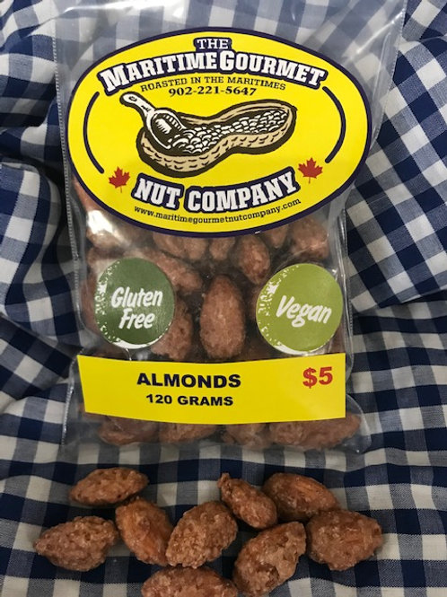 Fresh Roasted Almonds - Maritime Gourmet Nut Company