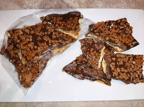 Milk Chocolate Skor Crunch (100g package) - Karyn's Cookies & Treats
