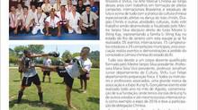 Matéria maravilhosa da revista Sport News MMA sobre o nosso trabalho no RJ.