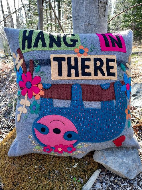 """""""Hang In There""""  Pillow - Meraki Designs"""