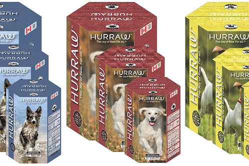 Hurraw Dog Food (Large Size - 10kg) - PAWS 4 Health