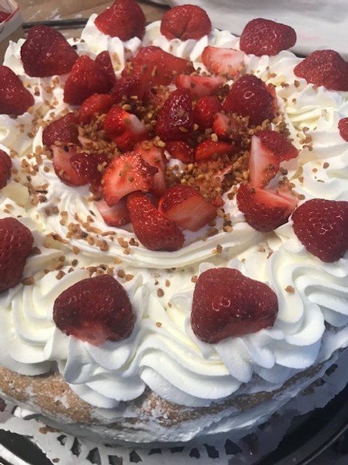 Strawberry Short Cake (Small or Large) - The Cake Lady