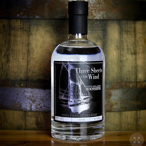 Three Sheets to the Wind White Molasses Shine (750ml) - Still Fired Distilleries