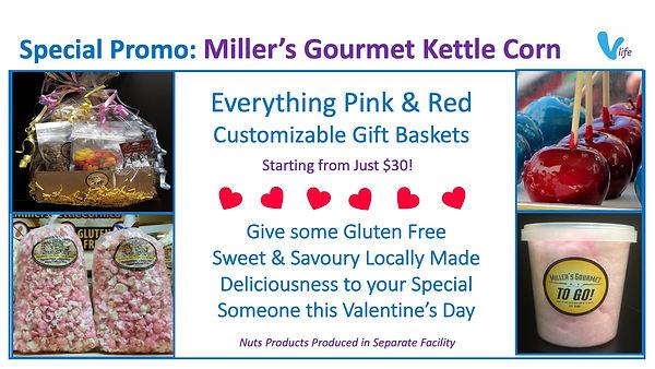 Miller's Gourmet Valentine2021 Gift Box