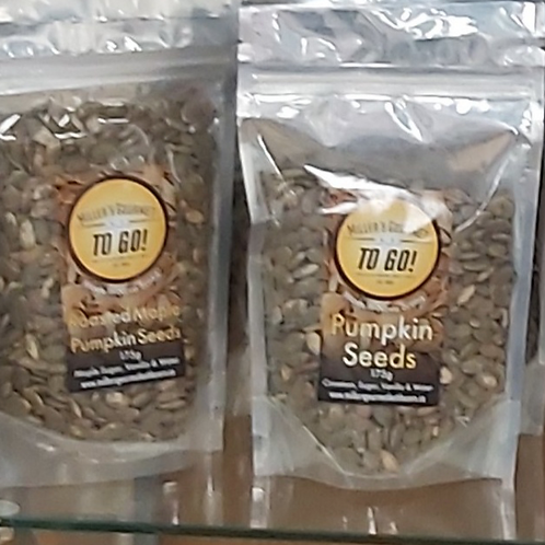 Glazed Roasted Pumpkin Seeds (175g) - Miller's Gourmet Kettlecorn