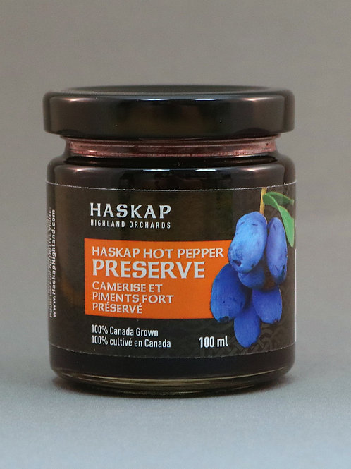 HASKAP Hot Pepper Preserve (100ml) - HASKAP Highland Orchards