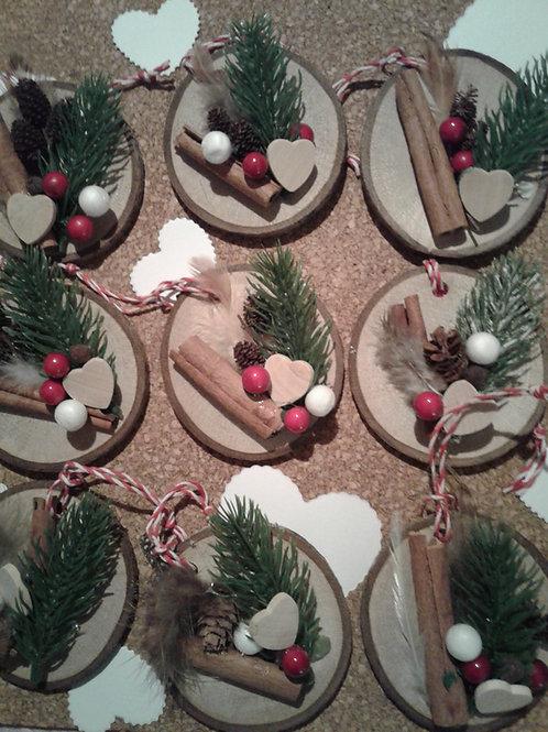 I Heart Woods - Birch Biscuits (write message on back) - Yodi Originals