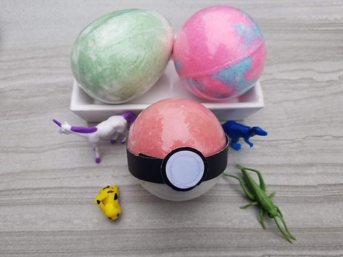 Toy Bath Bombs - The Silly Soap Shop