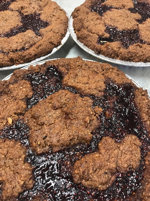 Linzer Torte with Cherry liquor - The Cake Lady