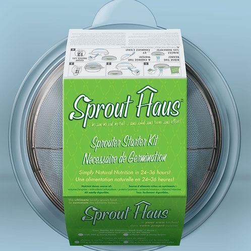 Sprout Haus kit  (no beans) - Sprouting World