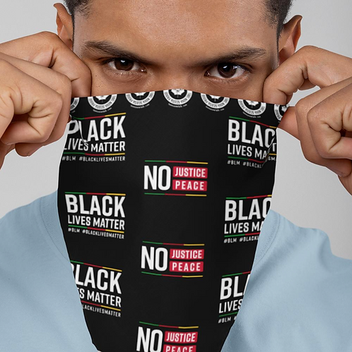 BLM Buff (face covering) - Teens Now Talk